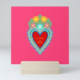 SACRED HEART Mini Art Print