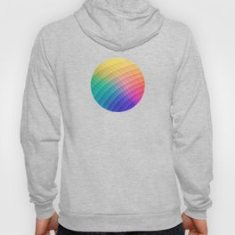 Spectrum Bomb! Fruity Fresh (HDR Rainbow Colorful Experimental Pattern) Hoody