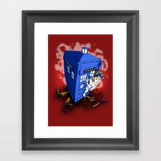 Dr Whorrible's Revenge! Framed Art Print