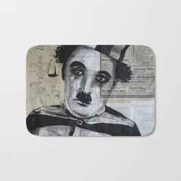 Charles Chaplin  Bath Mat