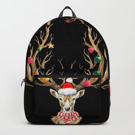 Christmas Deer 2 Backpack