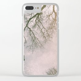 Reflective Reflection Clear iPhone Case