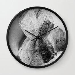 Beton Cross Wall Clock