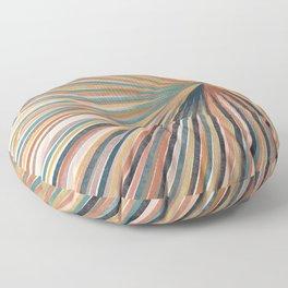 Summer Burst Art Print Floor Pillow