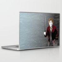 hobbit Laptop & iPad Skins featuring Hobbit by Digital Sketch