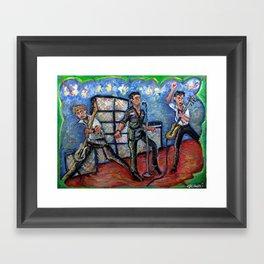 Revolution Rock (The Clash) Framed Art Print