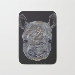 Black Rhino Bath Mat