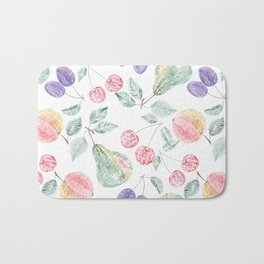 Fruity delight. Bath Mat