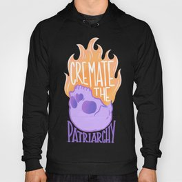 Cremate the Patriarchy purple @mod_mortician Hoody