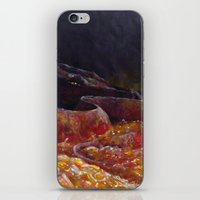 smaug iPhone & iPod Skins featuring Smaug  by Chiara Martinelli Creations