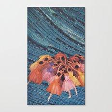 L' Canvas Print