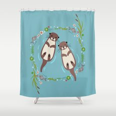 My Significant Otter Shower Curtain
