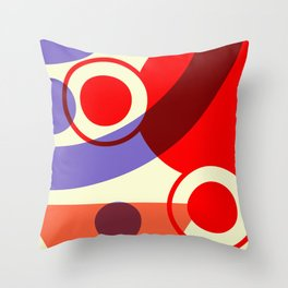 Abstract Space 02 Throw Pillow