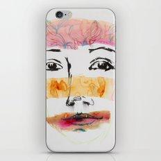 Head Shot #3 iPhone & iPod Skin