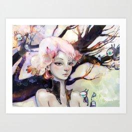 Enramada Art Print