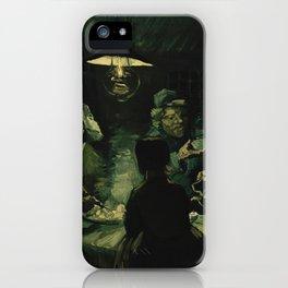 Vincent Van Gogh The Potato Eaters iPhone Case