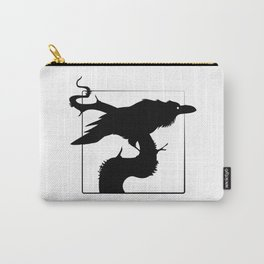 Raven Silhouette III Carry-All Pouch