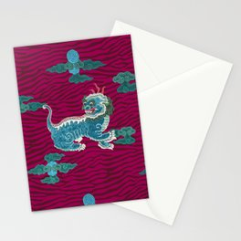 FOO BEASTIE ON MAGENTA Stationery Cards