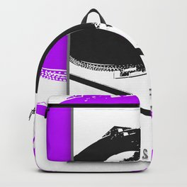 Vinyl is forever print Backpack