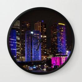 Vivid Sydney Festival Wall Clock