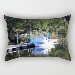 Little Shrimp Boat Rectangular Pillow