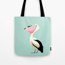 Loving Heart Pelican Tote Bag