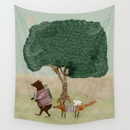 summers adventure Wall Tapestry