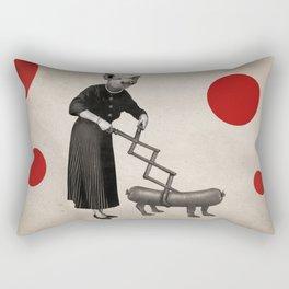 Anthropomorphic N°17 Rectangular Pillow