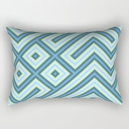 Square Truchets in MWY 01 Rectangular Pillow
