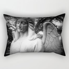 Crying Angel Rectangular Pillow