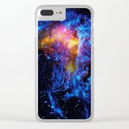 Veil Nebula Clear iPhone Case