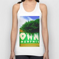 memphis Tank Tops featuring OWN Memphis by John Weeden