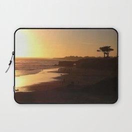 Santa Cruz Beach Laptop Sleeve