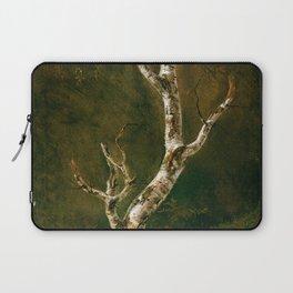 12,000pixel-500dpi - Johan Christian Dahl - Study Of A Birch Tree - Digital Remastered Edition Laptop Sleeve