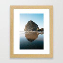 Cannon Beach, Oregon Framed Art Print