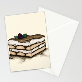 T is for Tiramisu Stationery Cards