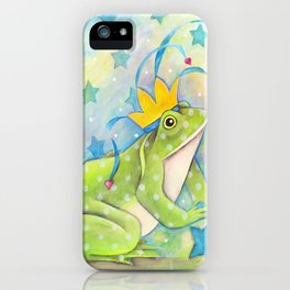 Whimiscal Bull Frog iPhone Case
