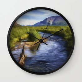 Just Wandering Wall Clock