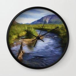 Just Wandering Wall Clock