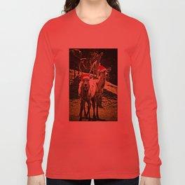 Tis The Season - Reindeer Long Sleeve T-shirt