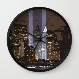 New York 022 by JAMFoto Wall Clock