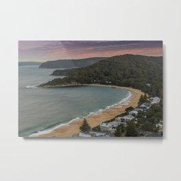 Pearl Beach, Central Coast Metal Print