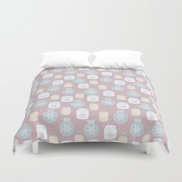 glass cans Duvet Cover