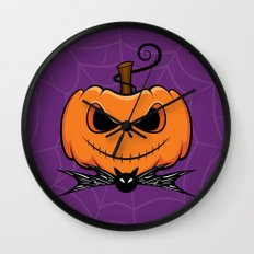 Pumpkin King Wall Clock