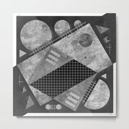 """Symmetric Composition """"16:9""""  Metal Print"""