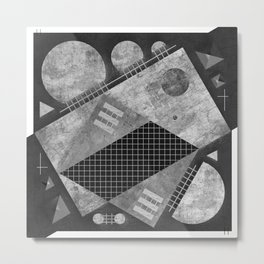 "Symmetric Composition ""16:9""  Metal Print"
