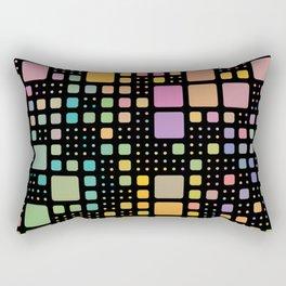 Pop Squares Rectangular Pillow