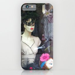 The Nineteen Fifties Look in the Village iPhone Case
