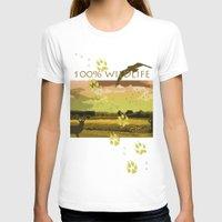 wildlife T-shirts featuring Wildlife by Sergio Silva Santos