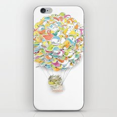 Bird Balloon iPhone & iPod Skin